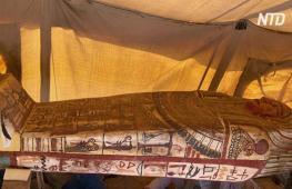 В Египте нашли 27 древних саркофагов, которые ещё никто не открывал