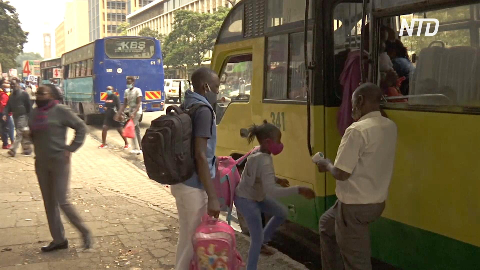 Непростые будни кенийских маршруток на фоне карантина