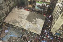 Разбор завалов продолжается: в Индии рухнул жилой дом