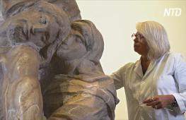 На реставрацию скульптуры Микеланджело снова можно посмотреть вживую
