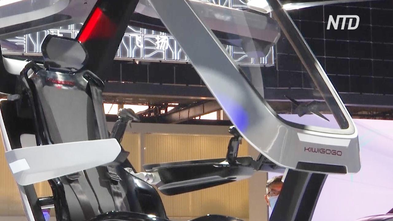 Пекинский автосалон: китайский аэромобиль и электрокроссовер Honda SUV e:concept
