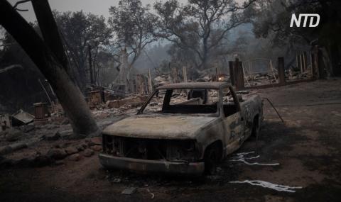 В Калифорнии из-за нового пожара эвакуируют жителей