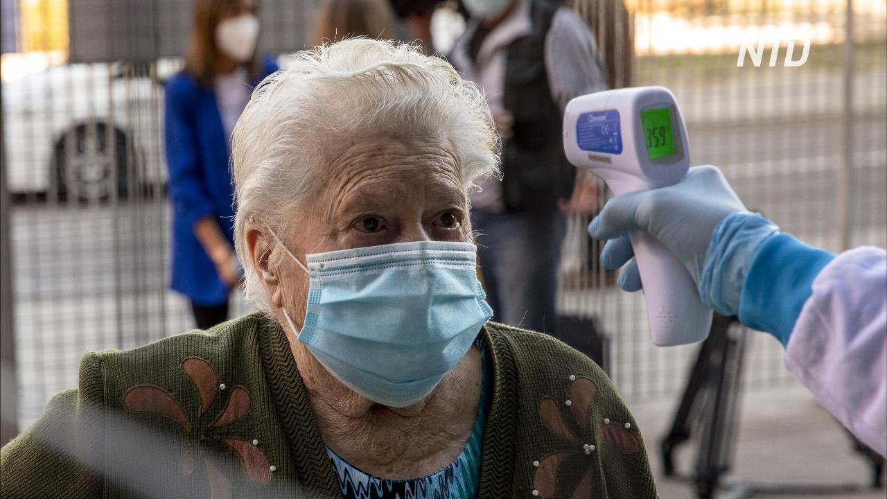 В Мадриде проводят массовое тестирование на COVID-19 из-за скачка числа заболевших