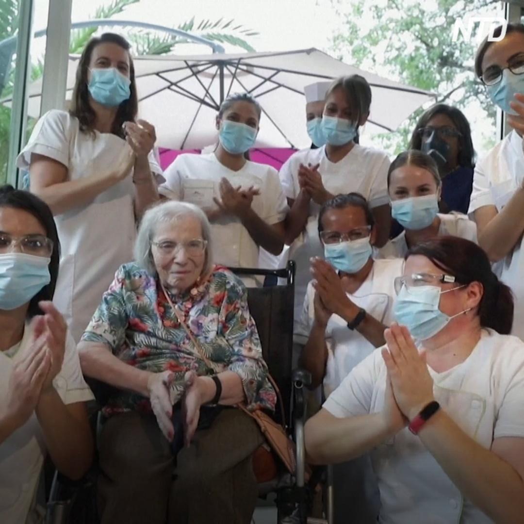 104-й день рождения в доме престарелых, где нет COVID-19