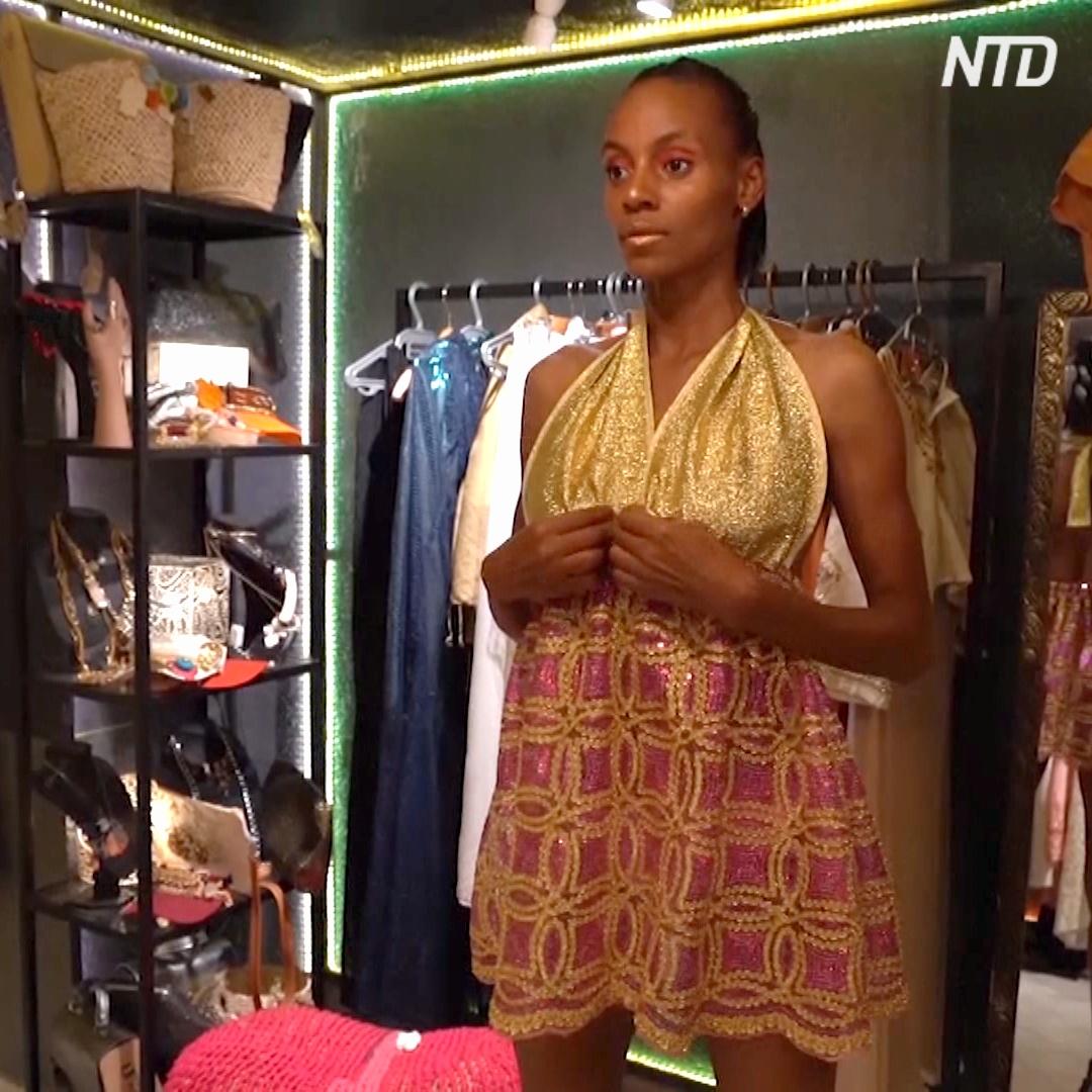 Дизайнерские наряды из одежды секонд-хенд: экологичная мода одного тунисца