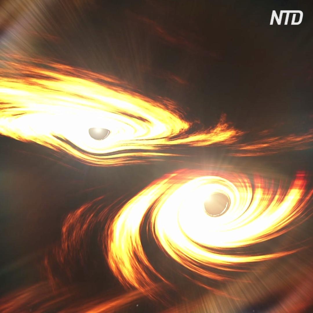 Чёрная дыра небывалого размера озадачила астрономов