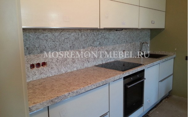 Замена и реставрация кухонных столешниц в Москве