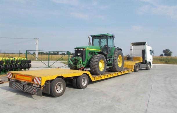 Перевозка сельхозтехники с компанией «Авто Трал Сервис»