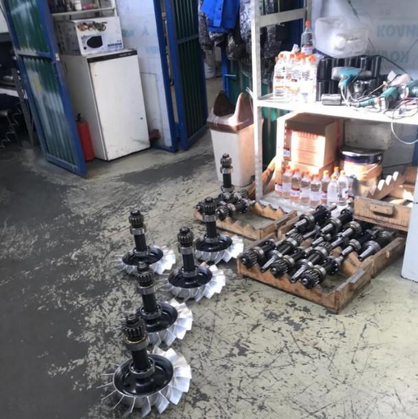 Работы по металлообработке