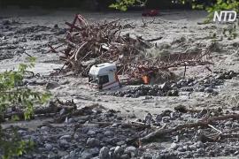Наводнение на юге Франции: не менее девяти пропавших без вести