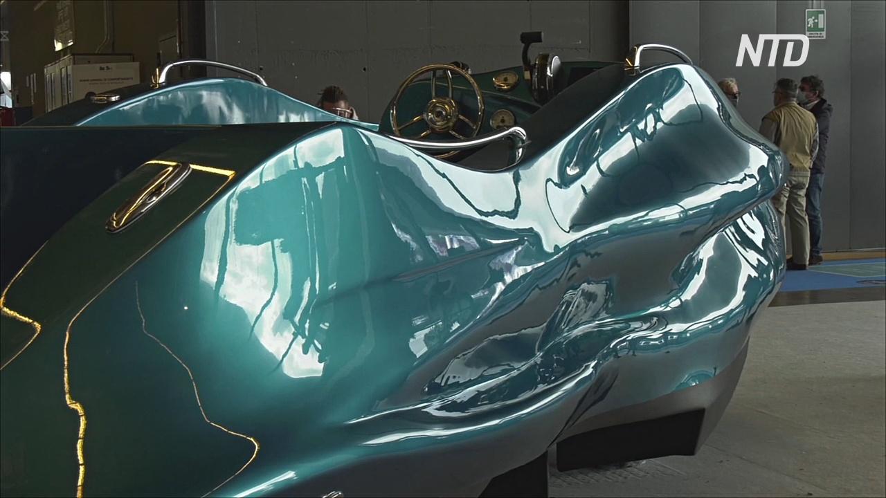 На боут-шоу в Генуе показали первую в мире лодку, напечатанную на 3D-принтере