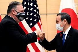 Визит в Японию: Майк Помпео снова раскритиковал Китай за сокрытие данных о COVID