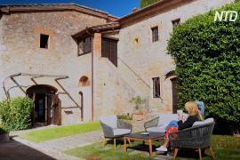 Тоскана привлекает туристов изолированным отдыхом в замке