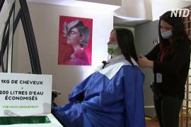Волосы – не мусор: благотворительная стрижка в Версале