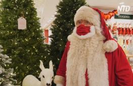 Сезон Рождества в Лондоне: в Selfridges приехал Санта-Клаус