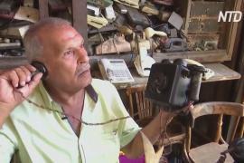 Египтянин собирает старинные телефоны политиков и звёзд кино