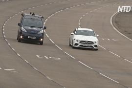 В Великобритании испытывают беспилотные авто, подключенные к мобильной связи 5G