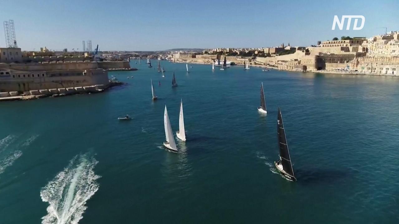 На Мальте стартовала регата Middle Sea Race