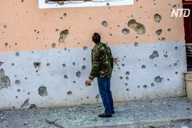 Шаткое прекращение огня в Нагорном Карабахе нарушено спустя часы после вступления в силу