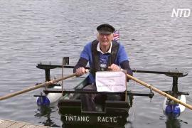 80-летний британский майор плавает на лодке и собирает деньги для хосписа