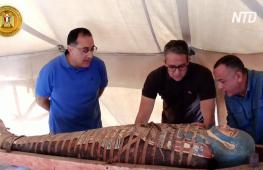 В некрополе Саккара нашли ещё более 80 древнеегипетских саркофагов
