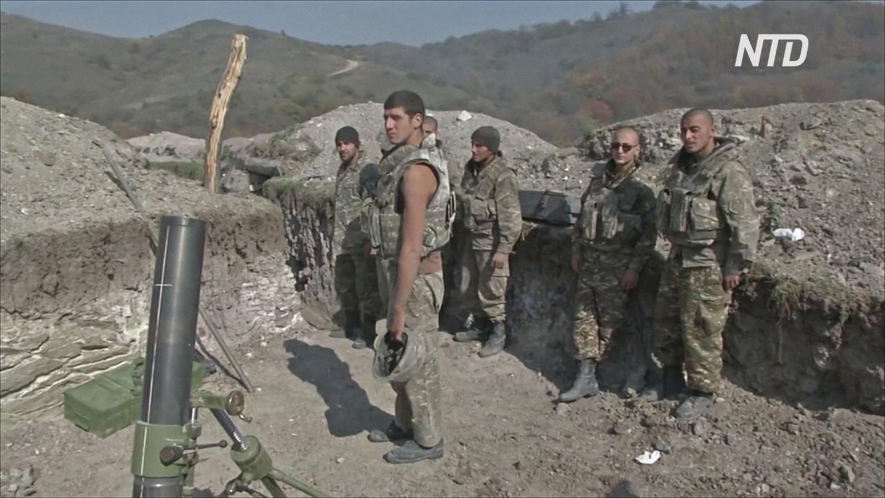 Начался новый режим прекращения огня в Нагорном Карабахе
