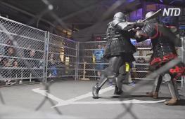 Искры из-под мечей и вмятины на шлемах: как проходят средневековые бои в Австралии