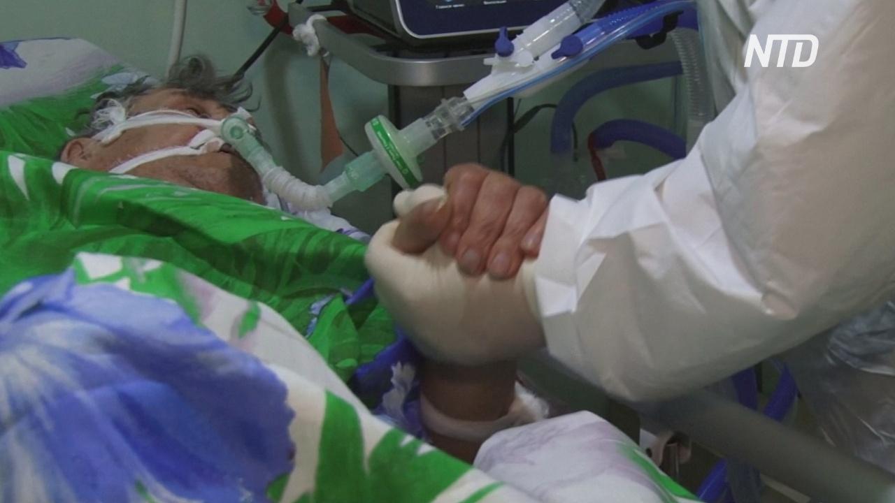 «Идёт война»: медики Алейска на Алтае борются со вспышкой «ковида»