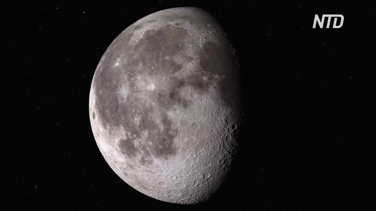 НАСА обнаружило воду на освещённой Солнцем поверхности Луны