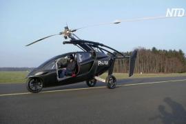 Летающему автомобилю Pal-V Liberty разрешили ездить по дорогам ЕС