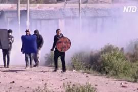 Аргентинский спецназ уничтожил лагерь бездомных на окраине Буэнос-Айреса