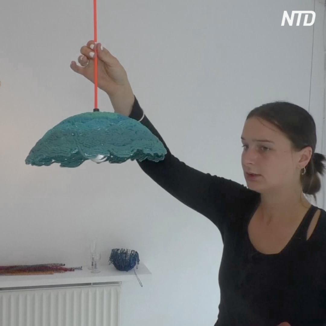 Искусство из мусора: как из пластика создают предметы интерьера