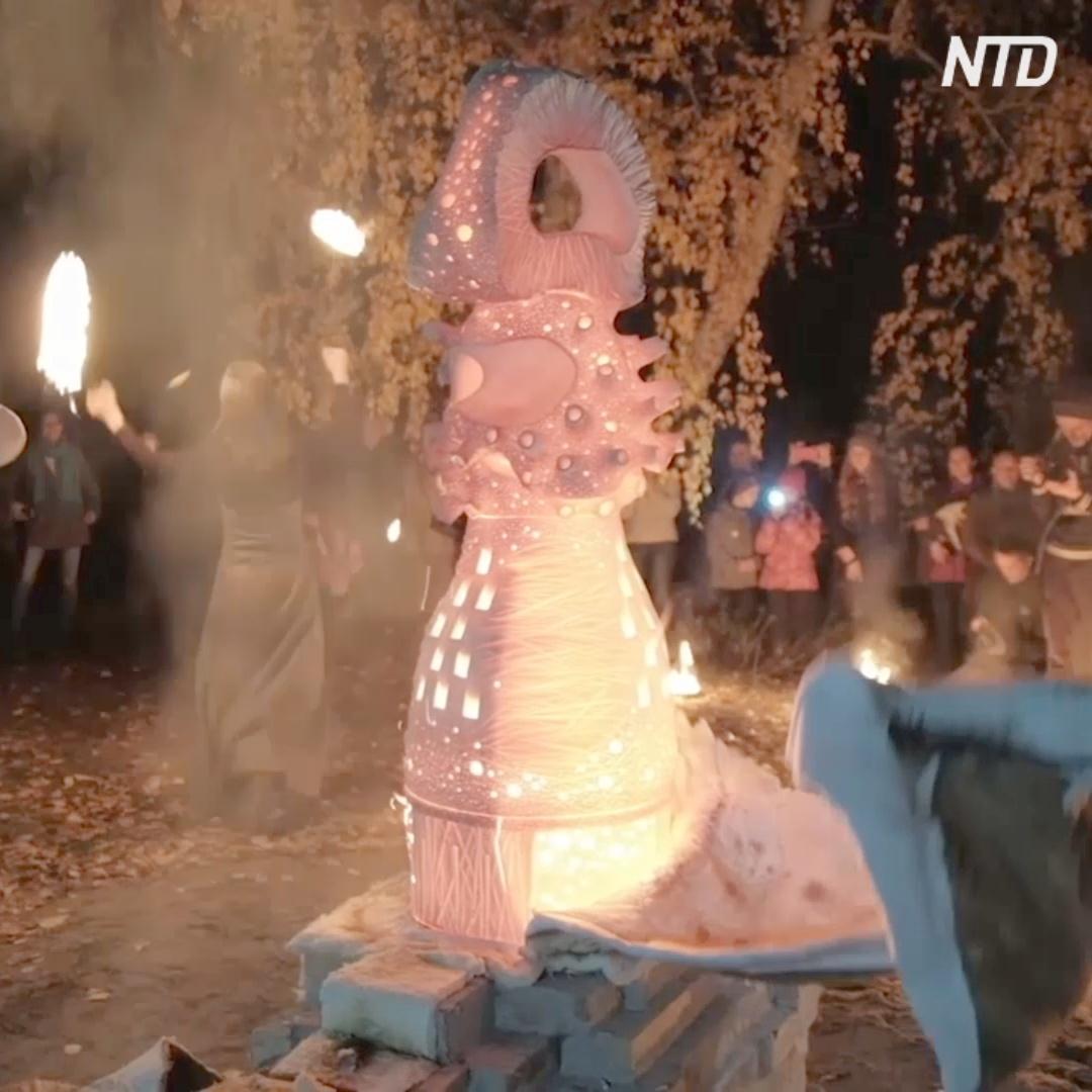 Рыбы, динозавры и дельфины: первый фестиваль ленд-арта на Урале