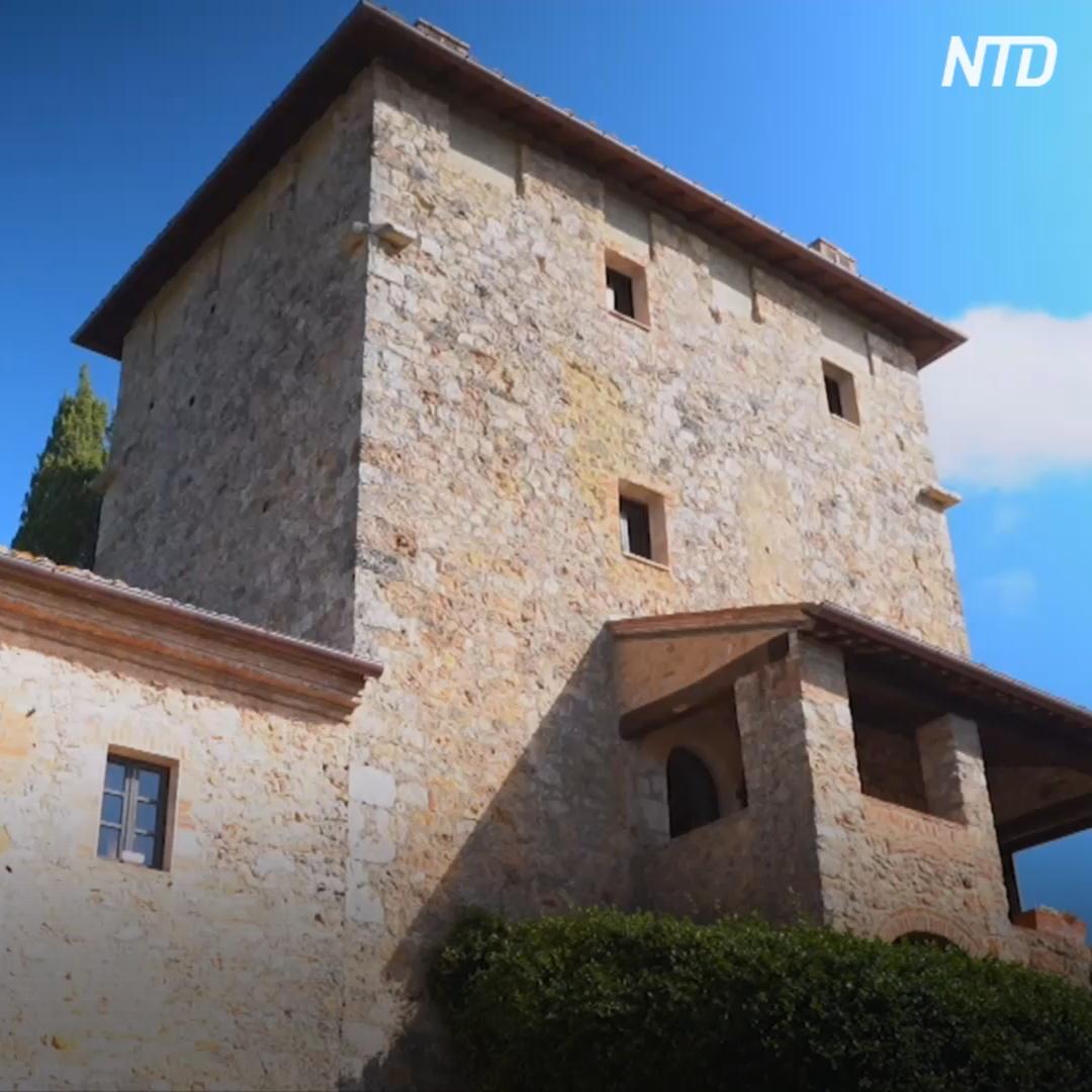 Отдых в замке в изоляции: новый тосканский туризм
