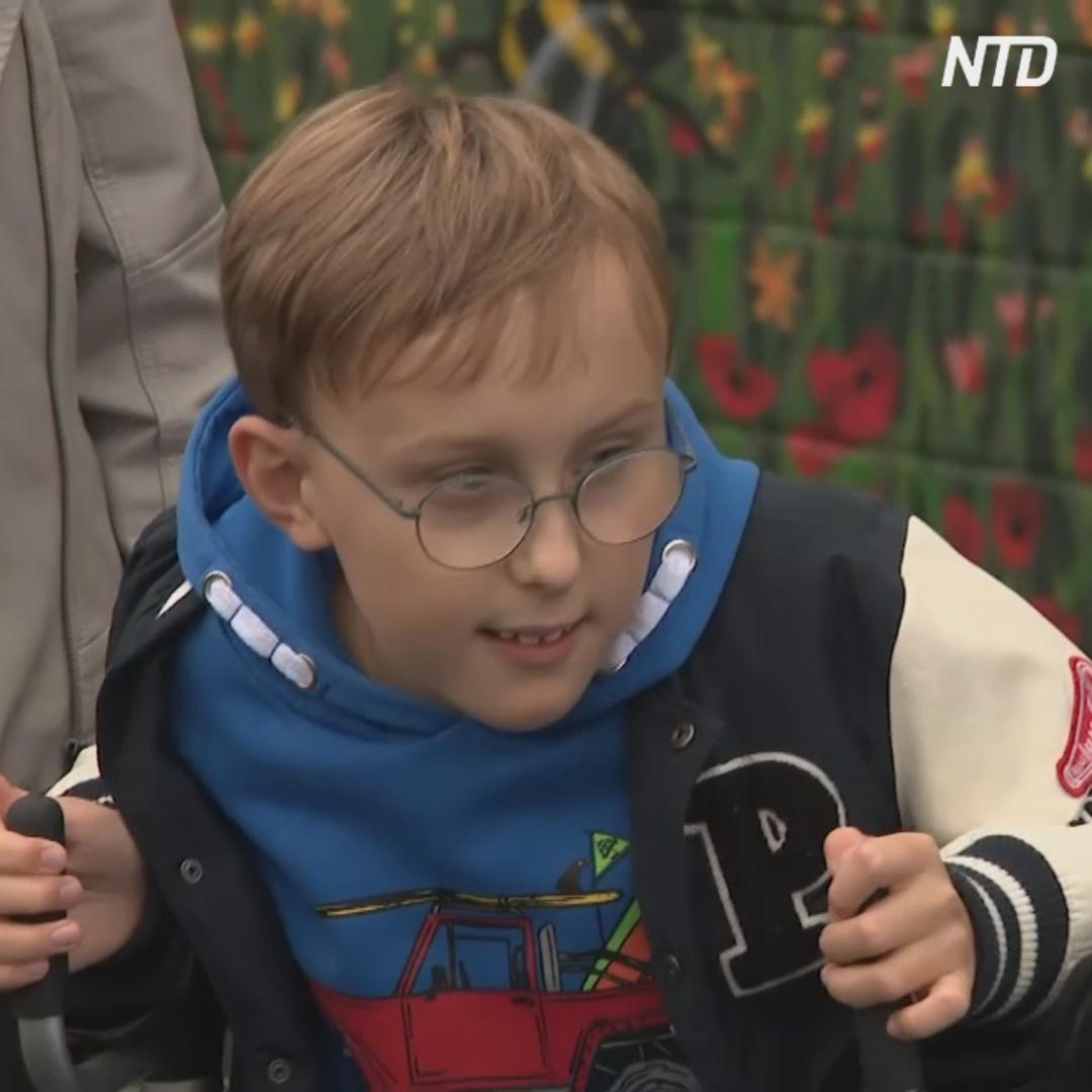 Мальчик с церебральным параличом преодолел два марафона