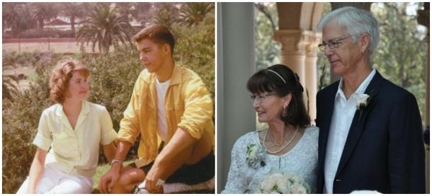 Свадьба состоялась после 50 лет разлуки