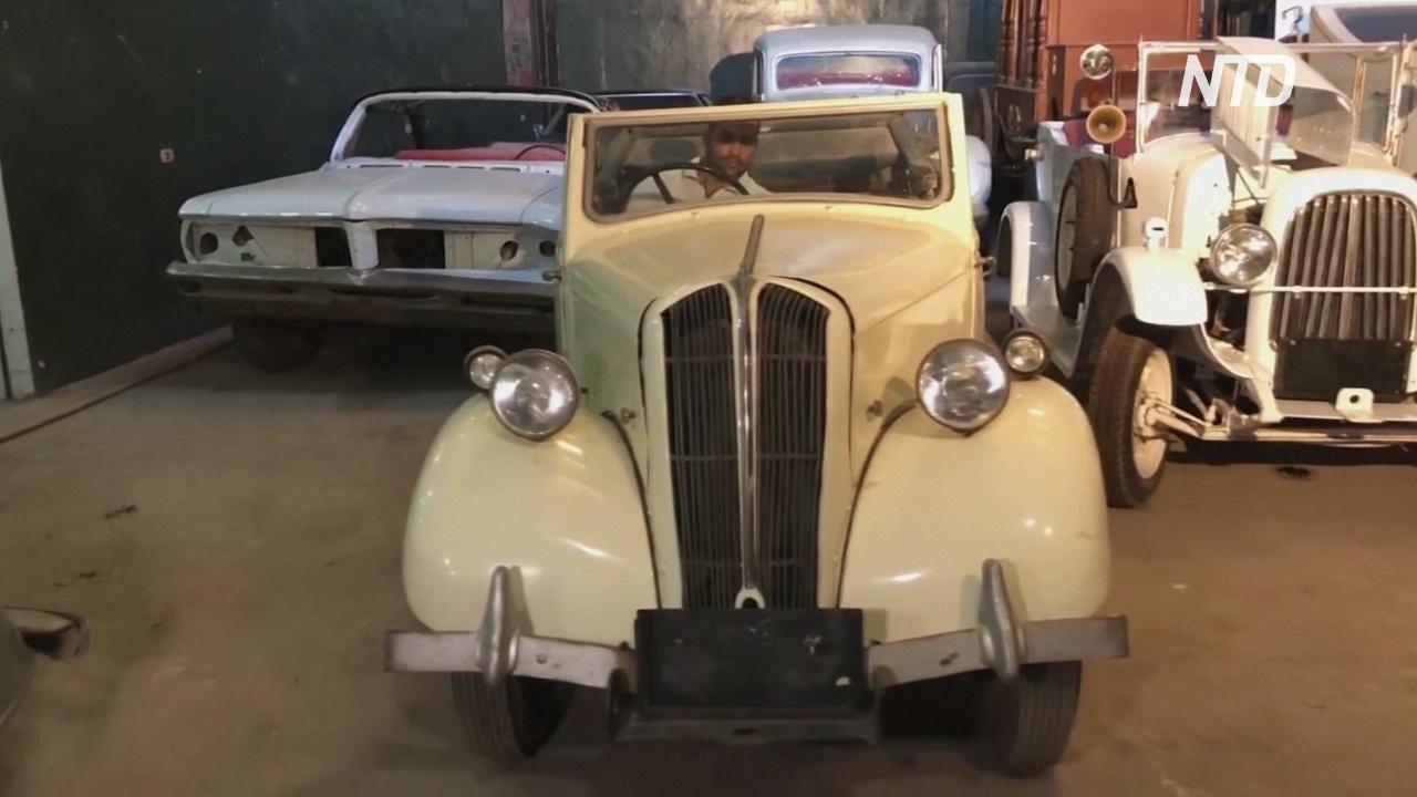 Fiat 501 и Auburn: египтянин собрал коллекцию редких ретроавтомобилей