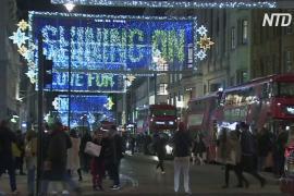 Рождественские огни в Лондоне посвятили героям времён пандемии