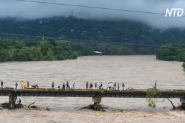 Ураган «Эта» вызвал хаос в Гондурасе