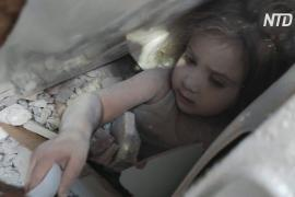 Чудесное спасение в Турции: 4-летняя девочка провела под завалами 91 час и выжила