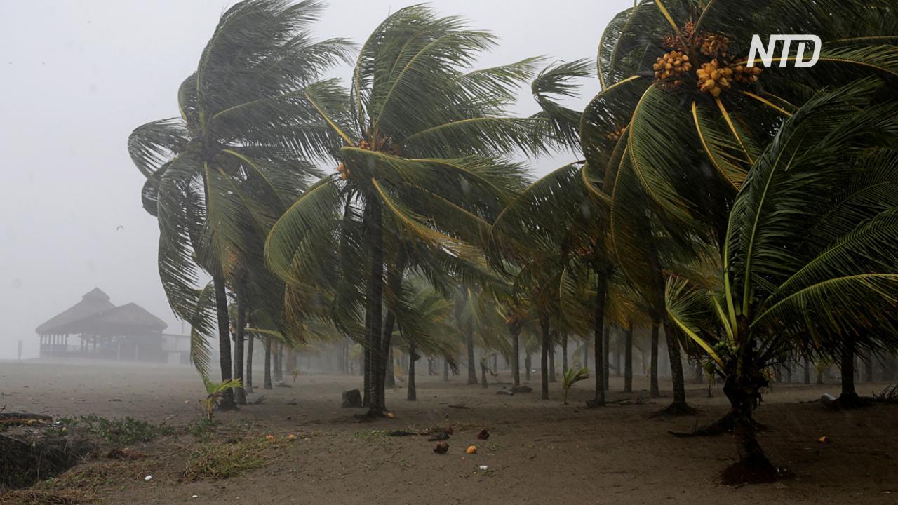 Ураган «Эта» ослаб до тропического шторма