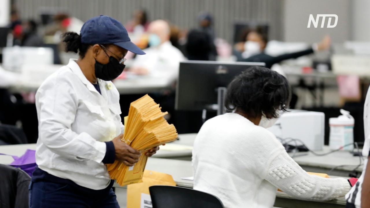 В США до сих пор считают бюллетени в рамках президентских выборов