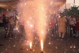 В преддверии главного у индуистов праздника Дивали в Нью-Дели запретили фейерверки