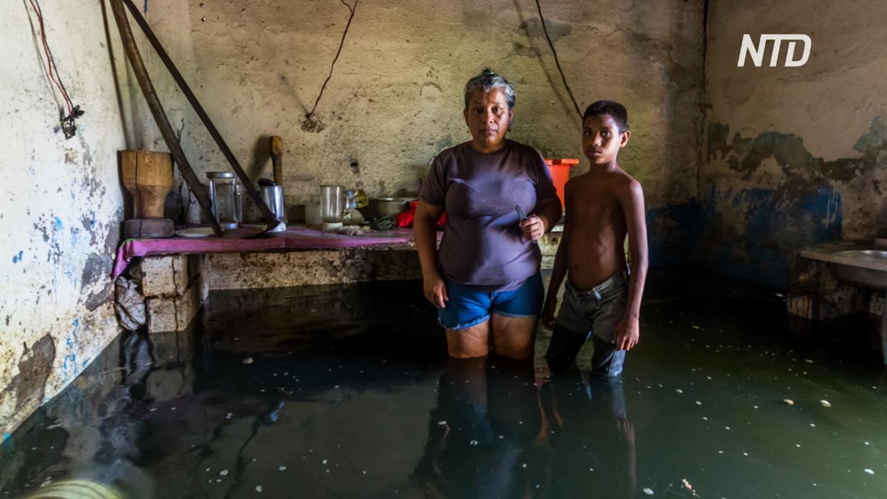 Наводнение в Венесуэле: уровень воды в 6 метров и человеческие жертвы