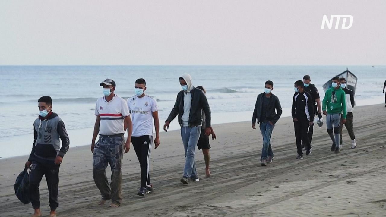 Остров Гран-Канария захлестнула волна нелегальных мигрантов