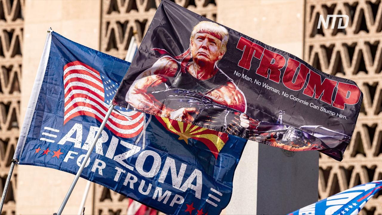 Разрыв между Байденом и Трампом в Аризоне сокращается