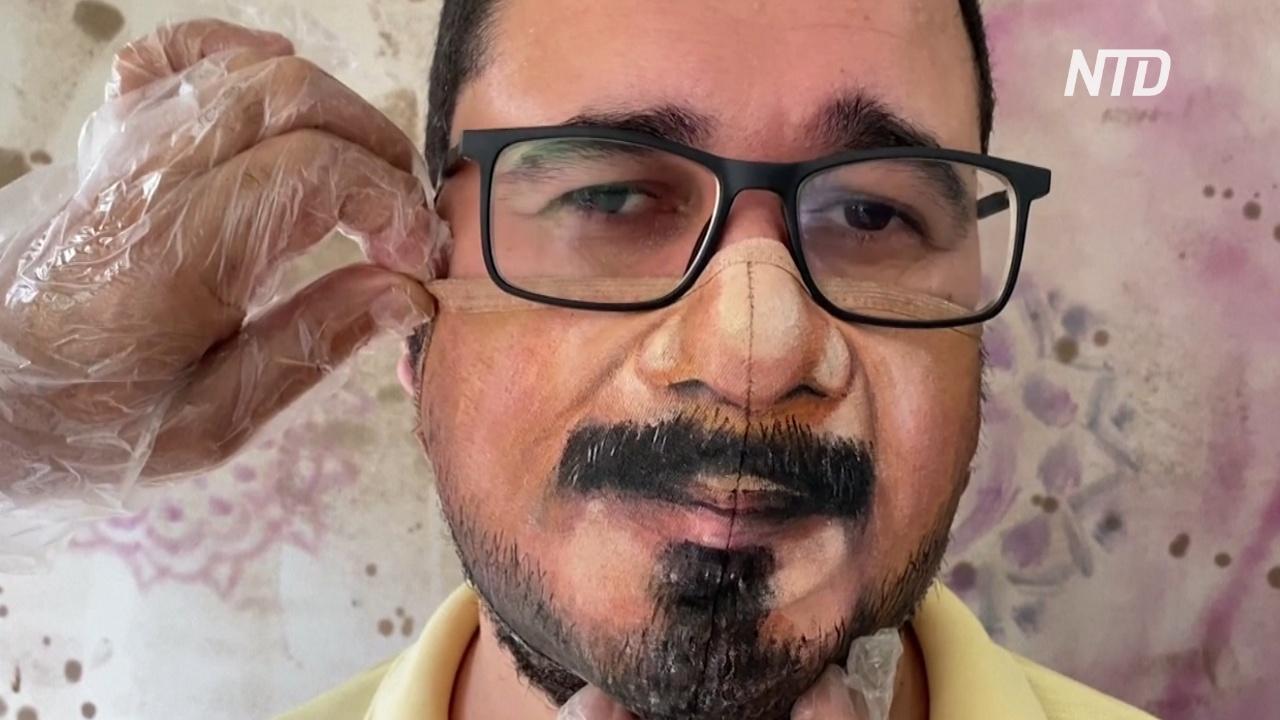 Бразилия: художник костюмов для карнавала теперь создаёт расписные маски