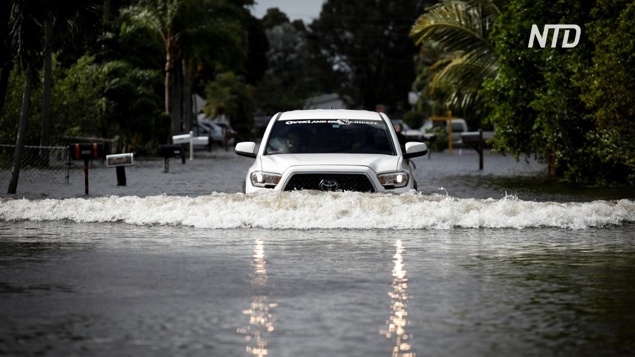 Последствия «Эты»: улицы городов Мексики превратились в реки
