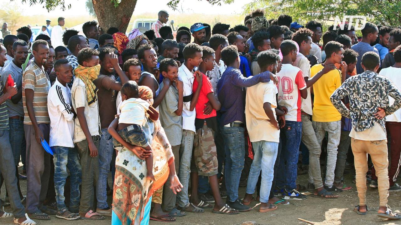 Не менее 20 тысяч эфиопцев бежали в Судан, спасаясь от конфликта в Тыграе