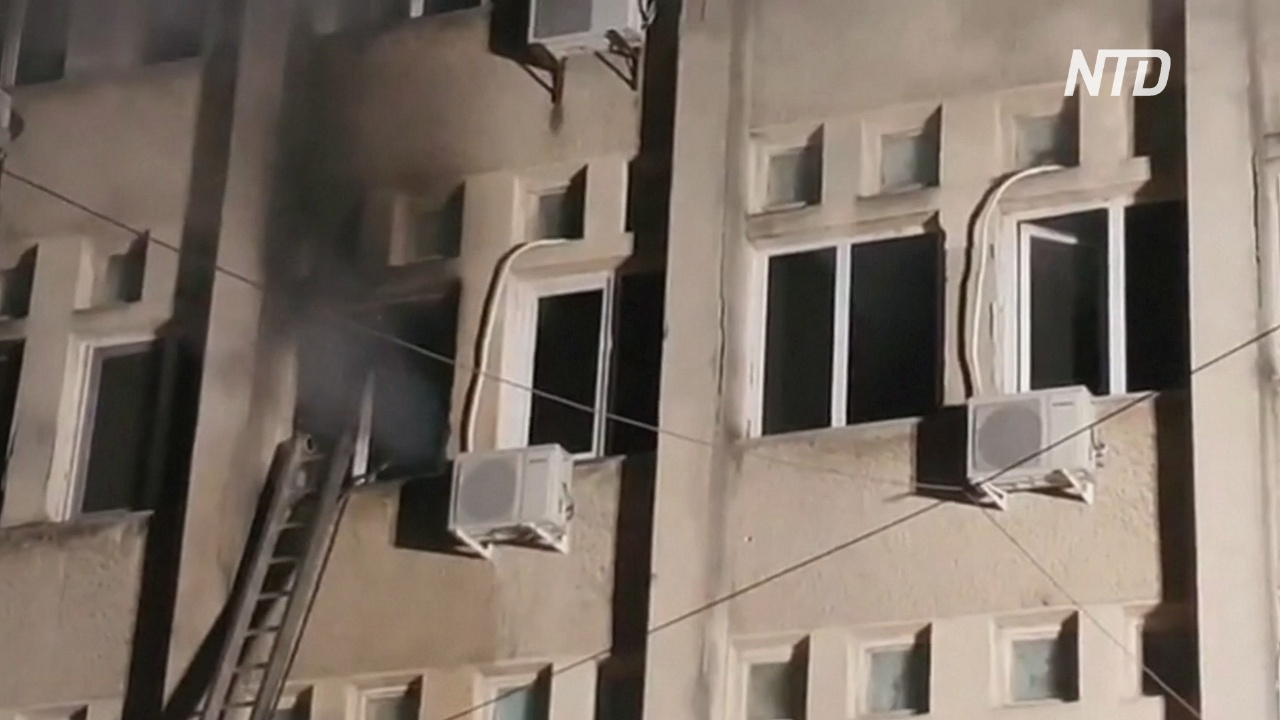 Президент Румынии назвал пожар в больнице для пациентов с COVID огромной трагедией